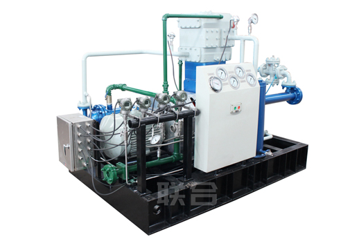 Compressor for liquefied petroleum gas