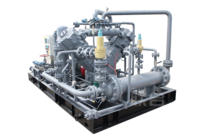 Regeneration gas compressor