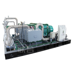 Flue gas compressor